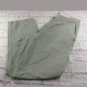 Columbia pants size 36 olive green cotton
